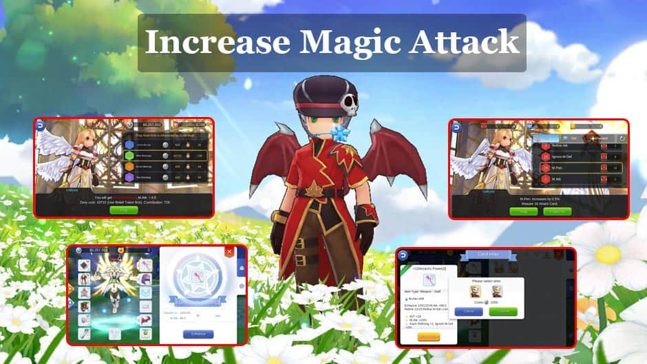 How to Increase Magic Attack in Ragnarok Mobile