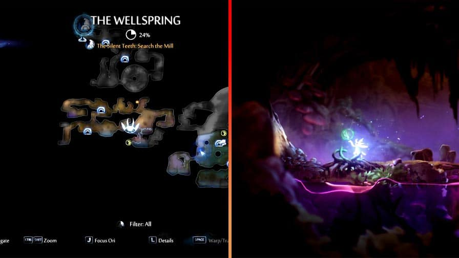 Map Screenshot For Life Cell Number 12 In The Wellspring