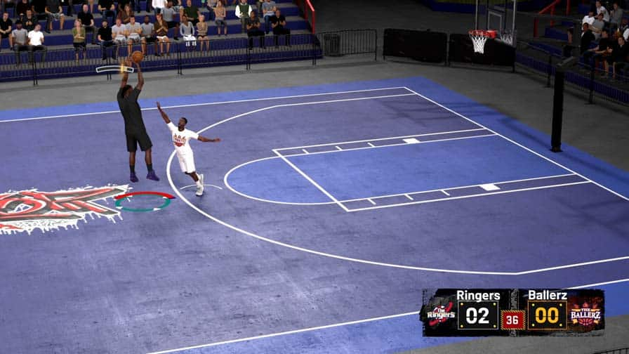 Shooting Threes To Finish Blacktop Match Faster In Nba 2k21